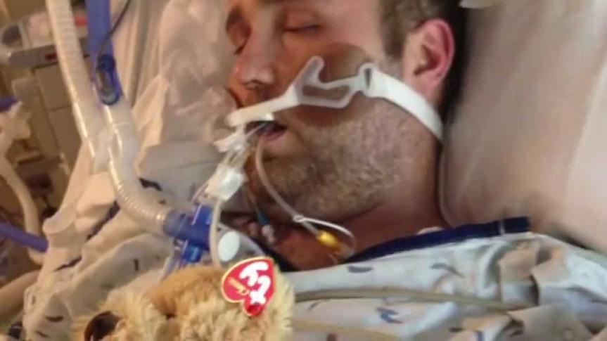 Dereck Merrill survives drug overdose, vegetativestate