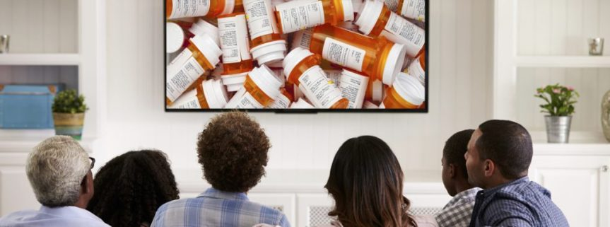 Ever Notice How Drug Ads Dominate TV Commercials?  Want To LearnWhy?