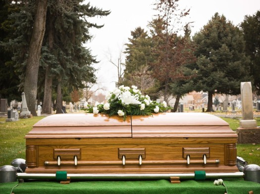 funeral-coffin-at-cemetary