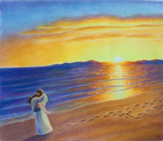 Jesus carries 3