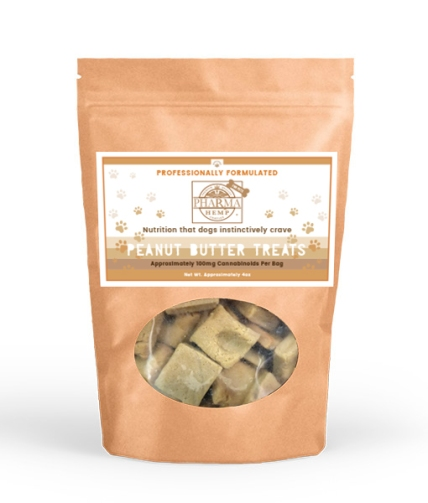 CBD hemp health inc PETS PHC_4oz_Peanut_Butter_Treat_510px_x_600px