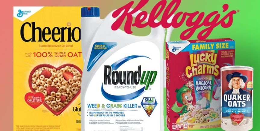 Do you Unknowingly Feed your Children Roundup for Breakfast Everyday?  Here's How to Know! The Consequences areDeadly!