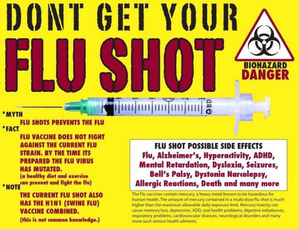 Flu Prevention WITHOUT DANGEROUS FLUVACCINE!