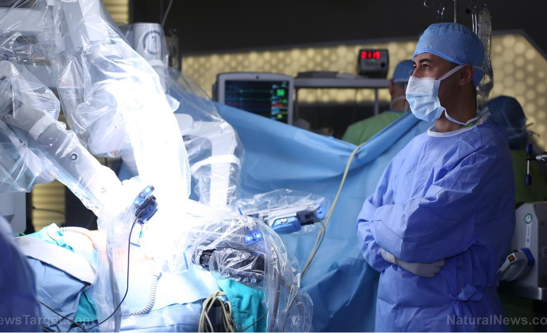 Surgical robot BOTCHES surgery, KILLS PATIENT on operating table while doctors sippedlattes