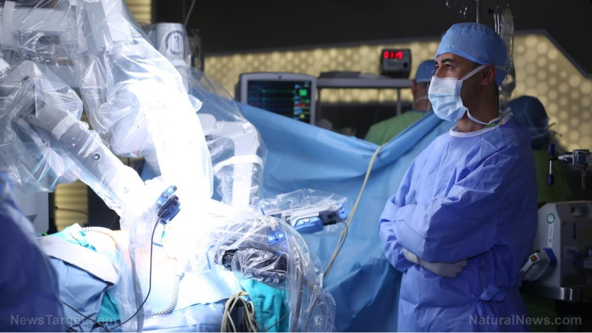 Surgical robot BOTCHES surgery, KILLS PATIENT on operating table while doctors sipped lattes