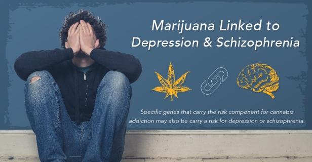 Marijuana-Linked-to-Depression-And-Schizophrenia
