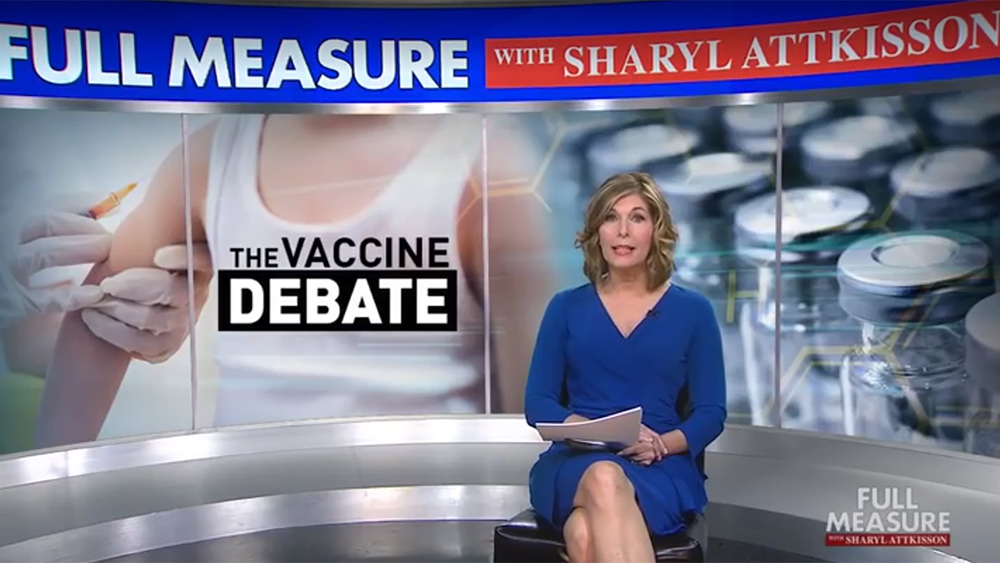 """Another vaccine cover-up revealed: Sharyl Attkisson drops bombshell on """"Full Measure"""" broadcast / WatchHere"""