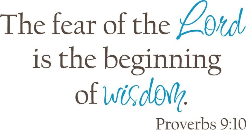 Fear of theLord
