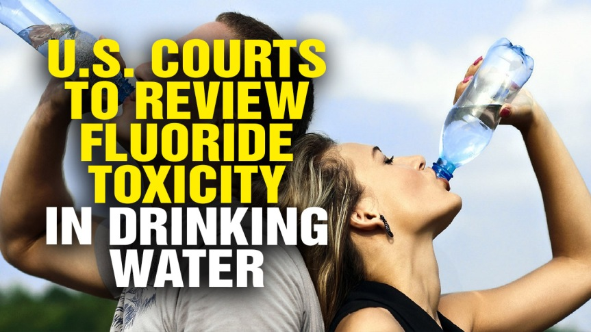 FDA cracks down on fluoride levels but still allows the neurotoxin to be DELIBERATELY added to bottledwater