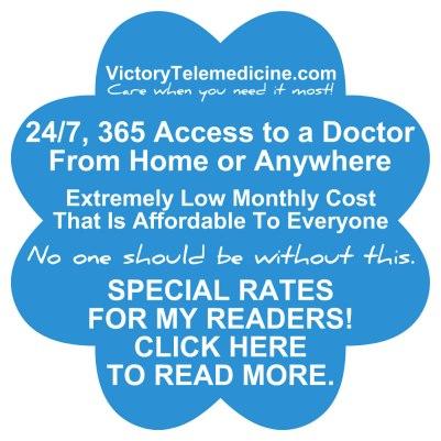 victory telemedicine ad for april