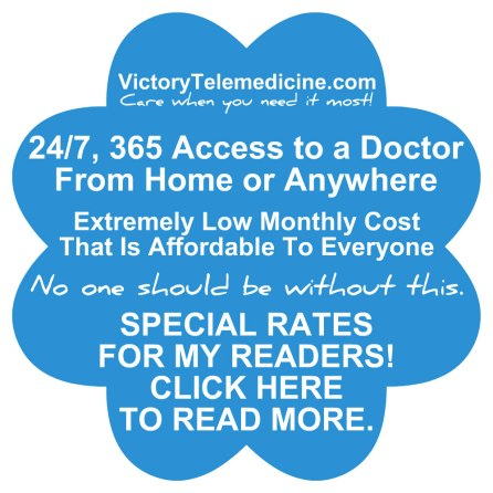 victory telemedicine ad for april