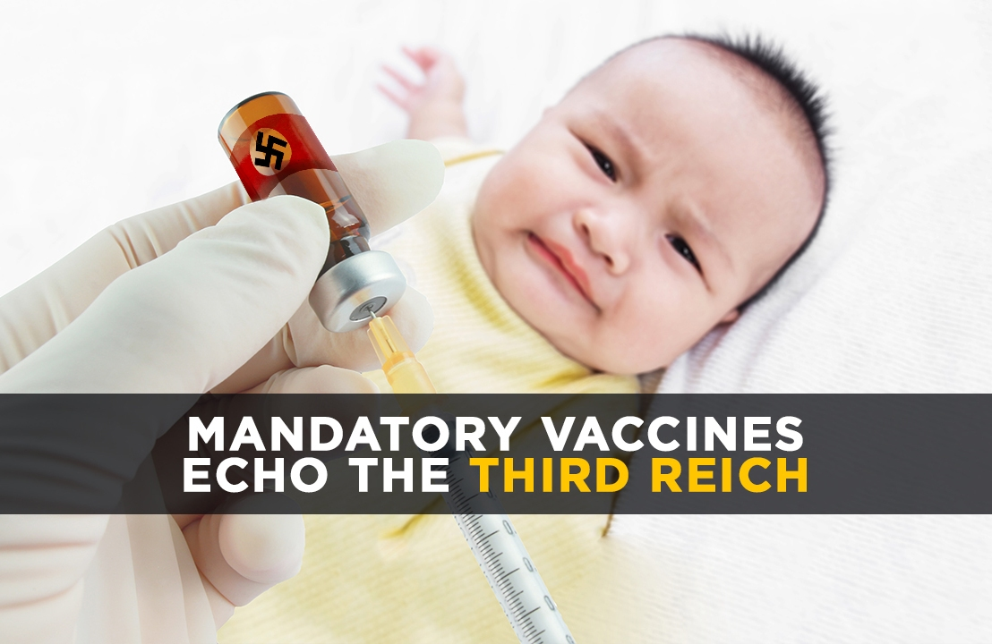 """A serious question: When will the first """"vaccine enforcers"""" be shot by parents defending their children against the felony assault of forcedimmunizations?"""