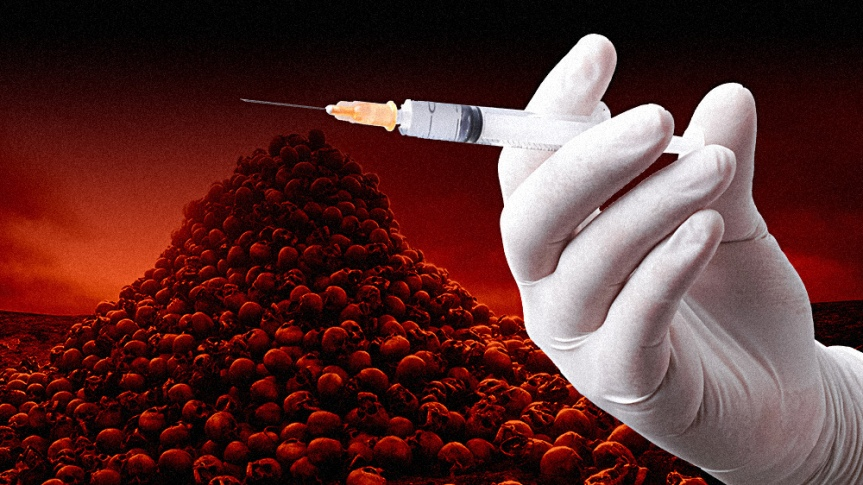 OBEY OR ELSE: New England Journal of Medicine says people refusing MANDATORY coronavirus vaccines should be severely punished, locked in their homes and fired from their jobs