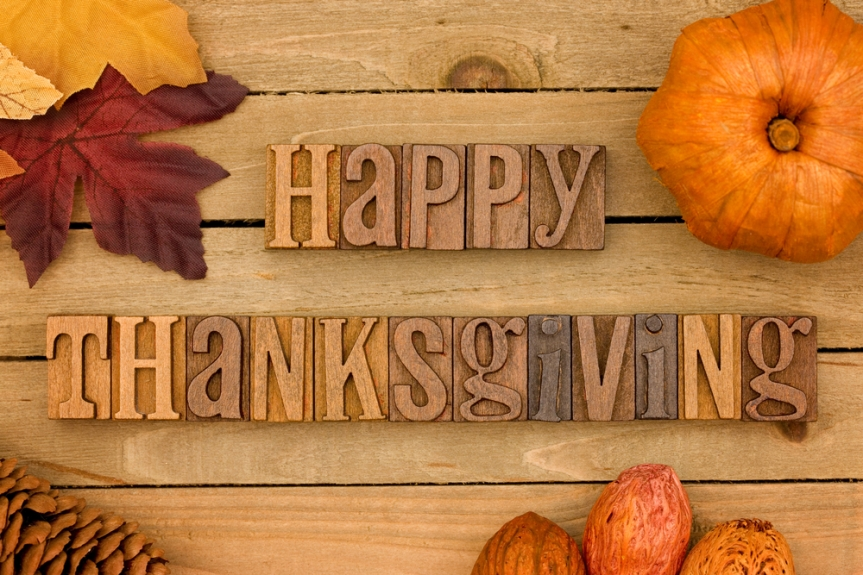 Happy thanksgiving to All My Readers!