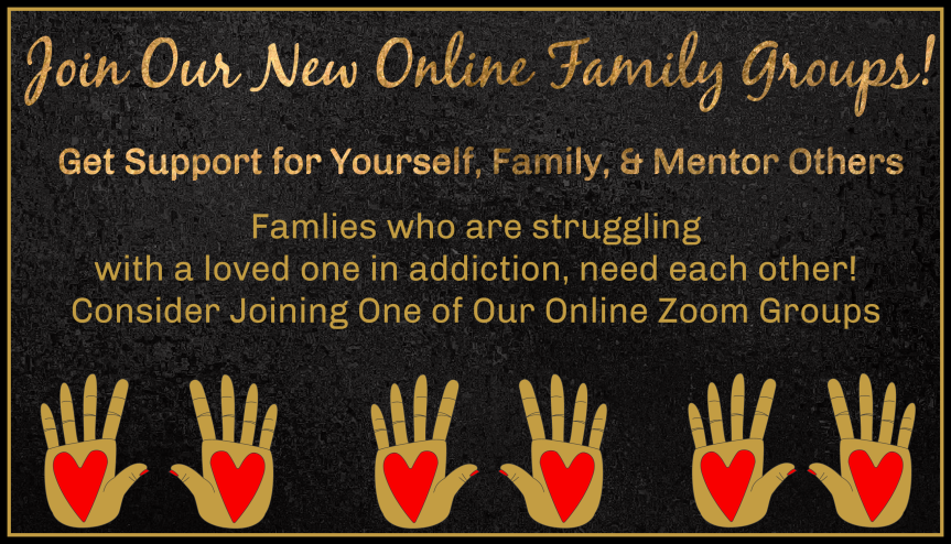 FREE Family Support Groups Online for Christian Families Struggling with a Loved One's Addiction