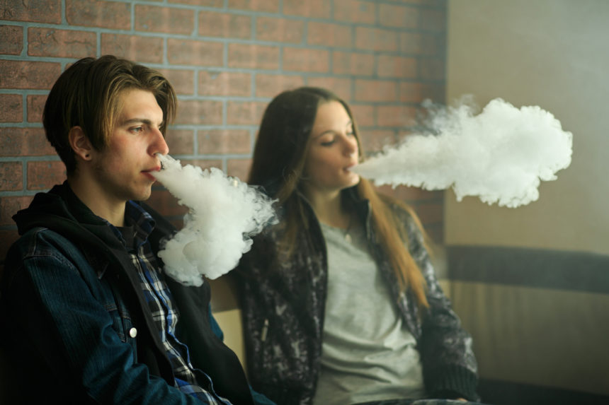 Association Between Youth Smoking, Electronic Cigarette Use, andCOVID-19
